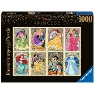Disney Princess - Puzzle Collector's Edition Princesses art nouveau (1000 pièces)