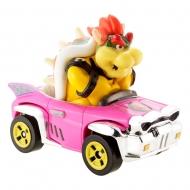 Mario Kart - Véhicule métal Hot Wheels 1/64 Bowser (Badwagon) 8 cm