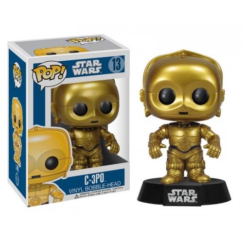 STAR WARS - Figurine Bobblehead de C3PO  - Funko Pop
