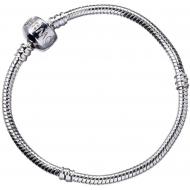Harry Potter - Bracelet pour breloques plaqué argent Slider Charm  (XS)