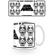 Star Wars - Mug Expressions Of A Stormtrooper