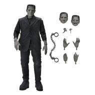 Universal Monsters - Figurine Ultimate's Monster Frankenstein (Black & White) 18 cm