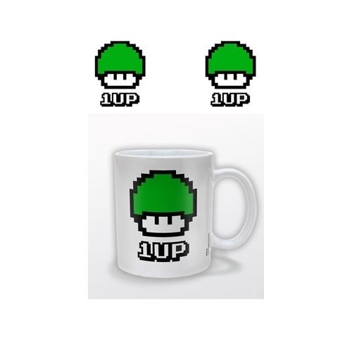 Funky Retro - Mug céramique 1 UP