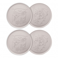 Transformers - Pack 4 sous-verres Transformers