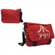 ATARI - Sac Besace Rouge Foncé  avec Marquage Logo Japonais