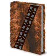Star Wars - Carnet de notes Premium A5 Chewbacca Fur