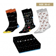 Friends - Pack 3 paires de chaussettes Symbols 35-41