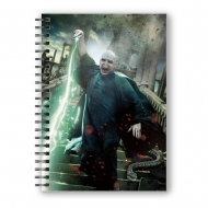 Harry Potter - Cahier effet 3D Voldemort Poster