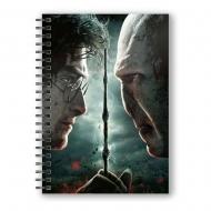 Harry Potter - Cahier effet 3D  vs. Voldemort