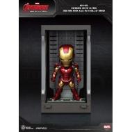 Avengers L'Ère d'Ultron - Figurine Mini Egg Attack Hall of Armor Iron Man Mark XLIII 8 cm