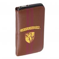 Harry Potter - Porte-monnaie / étui à cartes de visite simili cuir Gryffindor