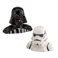 Star Wars - Salière et poivrière Darth Vader et Stormtrooper