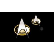 Star Trek : The Next Generation - Set pin's & pin Communicator