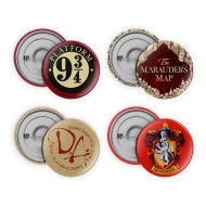 Harry Potter - Pack 4 badges Collection