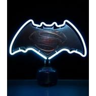 DC Comics - Lampe neon logo Batman v Superman