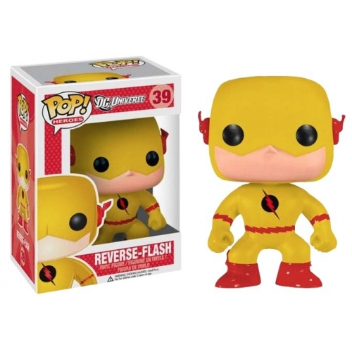 DC Heroes - Figurine Vinyl Pop Flash Reverse 10cm Exclu