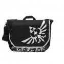 NINTENDO - Zelda Messenger Bag, Black W/ Logo Front