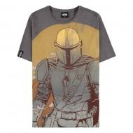 Star Wars : The Mandalorian - T-Shirt Sunset