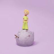 Le Petit Prince - Statuette Le Petit Prince sur sa planète 12 cm