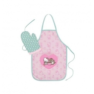 Pusheen - Tablier avec gant Pusheen Hello Kitty
