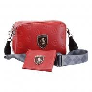 Harry Potter - Set sac à bandoulière IBiscuit & étui pour carte / porte-monnaie Gryffindor