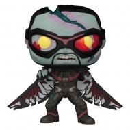 Marvel What If...? - Figurine POP! Zombie Falcon 9 cm