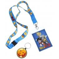 Dragonball Z - Dragonne avec porte-clés caoutchouc Goku