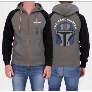 Star Wars : The Mandalorian - Veste à capuche Helmet