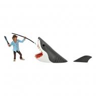 Les Dents de la mer - Pack 2 figurines Toony Terrors Jaws & Quint 15 cm