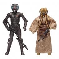 Star Wars Episode V - Pack 2 figurines Star Wars Episode V Black Series Bounty Hunters 40th Anniversary Edition 15 cm
