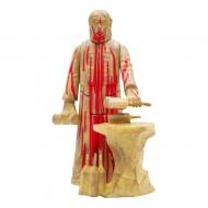 La Planète des singes - Figurine ReAction Lawgiver (Bloody) 14 cm