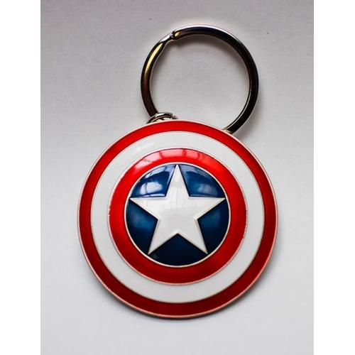Marvel Comics - Porte-clés métal Captain America Shield