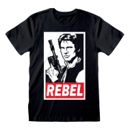 Star Wars - T-Shirt Han Solo Rebel