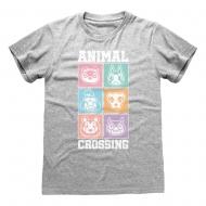 Animal Crossing - T-Shirt Pastel Square