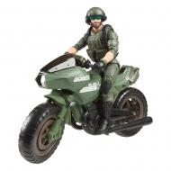 G.I. Joe Classified Series Cobra Island 2021 - Figurine Alvin Breaker Kibbey with Ram Cycle 15 cm