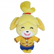 Animal Crossing - Peluche Shizue Isabelle (souriant) 20cm