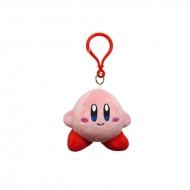 Nintendo - Peluche porte clés Kirby Mascotte Standard 9cm