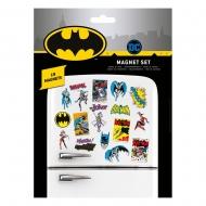 DC Comics - Pack aimants Batman Retro