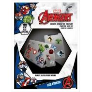 Marvel - Pack de 10 stickers tech Avengers Heroes