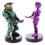 Halo 20th Anniversary - Pack de 2 Figurine Cable Guy Master Chief & Cortana 20 cm