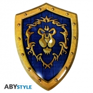 """World of Warcraft - Plaque métal """"Bouclier Alliance"""" (26x35)"""