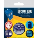 Doctor Who - Pack 5 badges Exterminate
