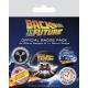 Retour vers le Futur - Pack 5 badges DeLorean