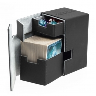 Ultimate Guard - Boite pour cartes Flip'n'Tray Deck Case 100+ taille standard XenoSkin Noir