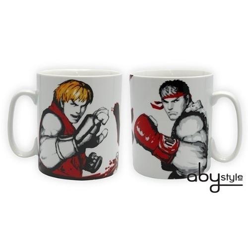 STREET FIGHTER - Mug - 460 ml - Ryu Vs Ken - porcl. avec boîte