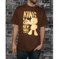 BLEACH - T-shirt homme King of New York marron