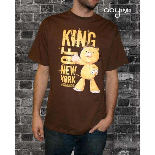 BLEACH - T-shirt homme King of New York marron