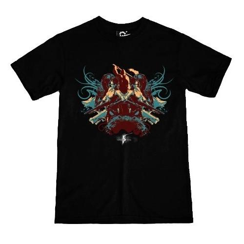 RESIDENT EVIL - T-Shirt Resident Evil 5 Dark Cult 02
