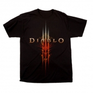 DIABLO III - T-Shirts Face Logo