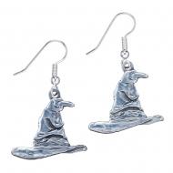 Harry Potter - Boucles d'oreille plaqué argent Sorting Hat